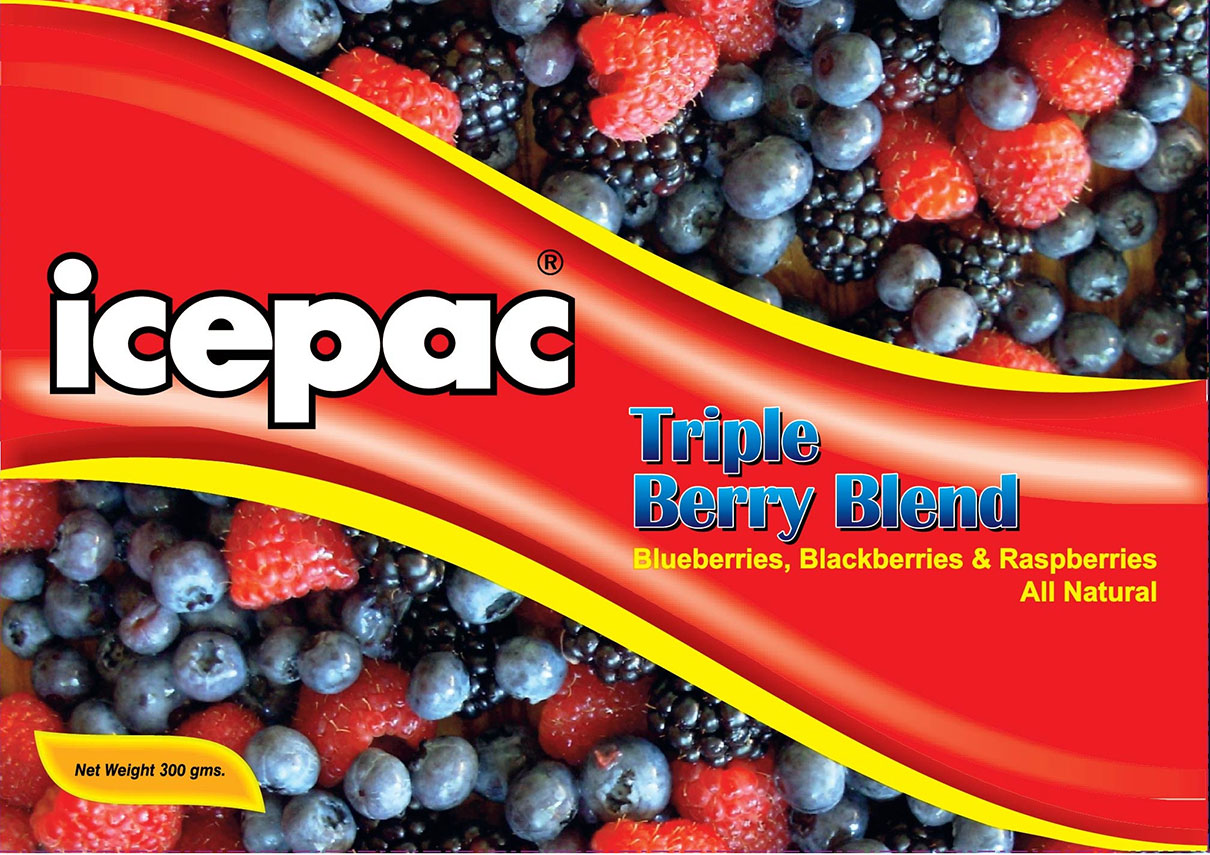 Icepac Triple Berry Blend