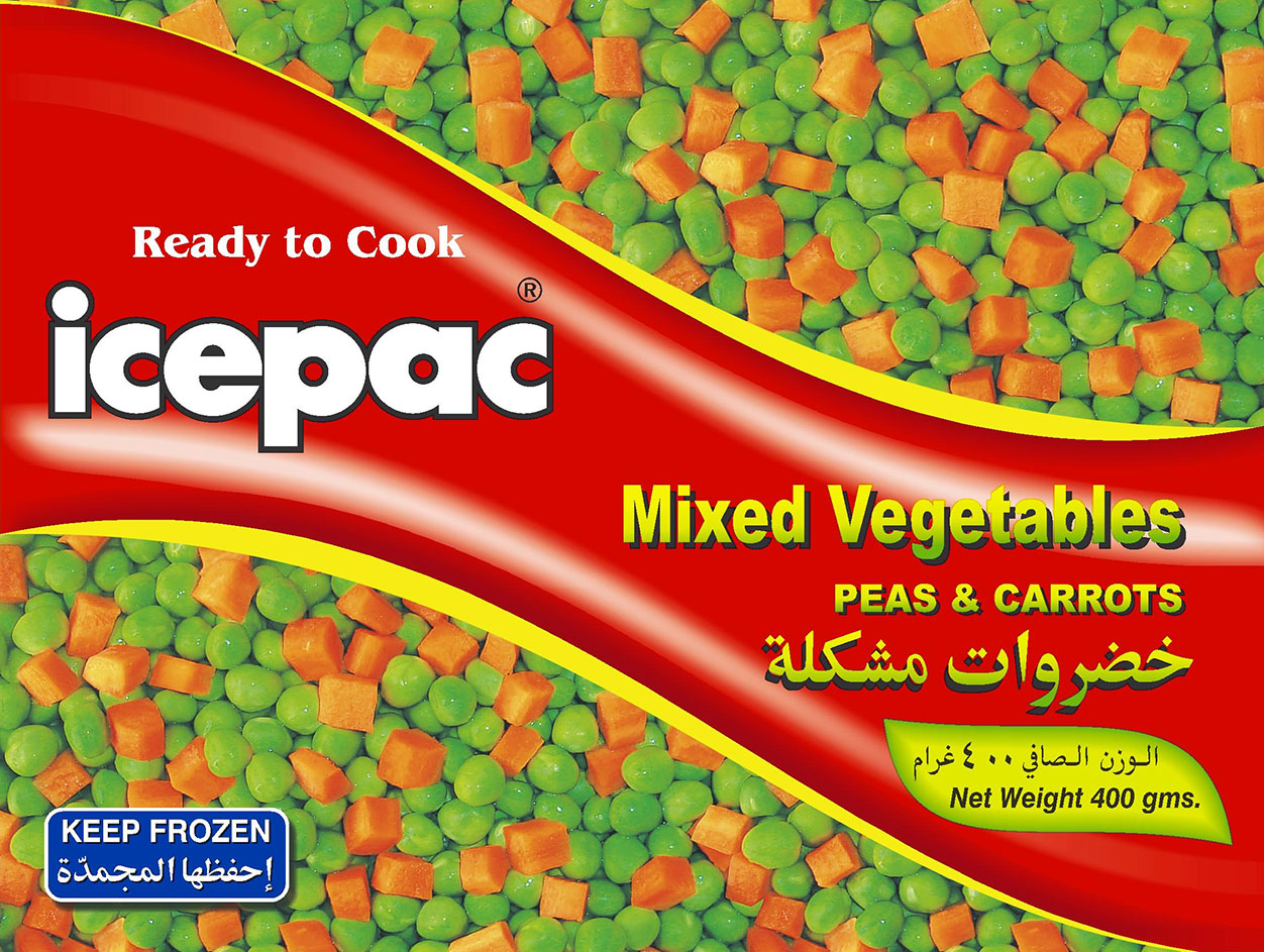 Icepac Mix Veges