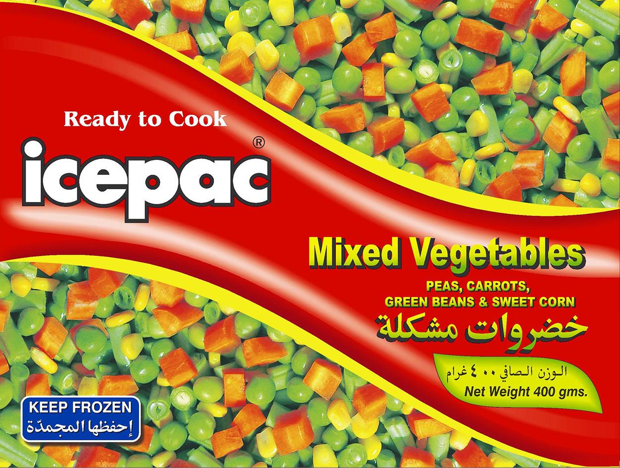 Icepac Mix Veges 4