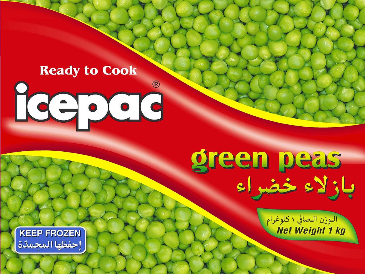 Icepac Peas